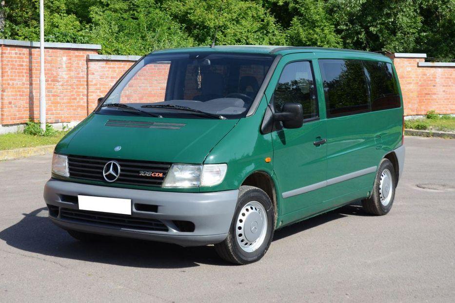 Продам Mercedes-Benz Vito пасс. в г. Дрогобыч, Львовская область 1999 года выпуска за 6 100$