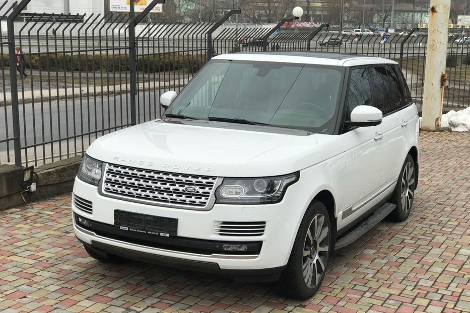 Продам Land Rover Range Rover SUPERCHARGED 2013 года в Киеве
